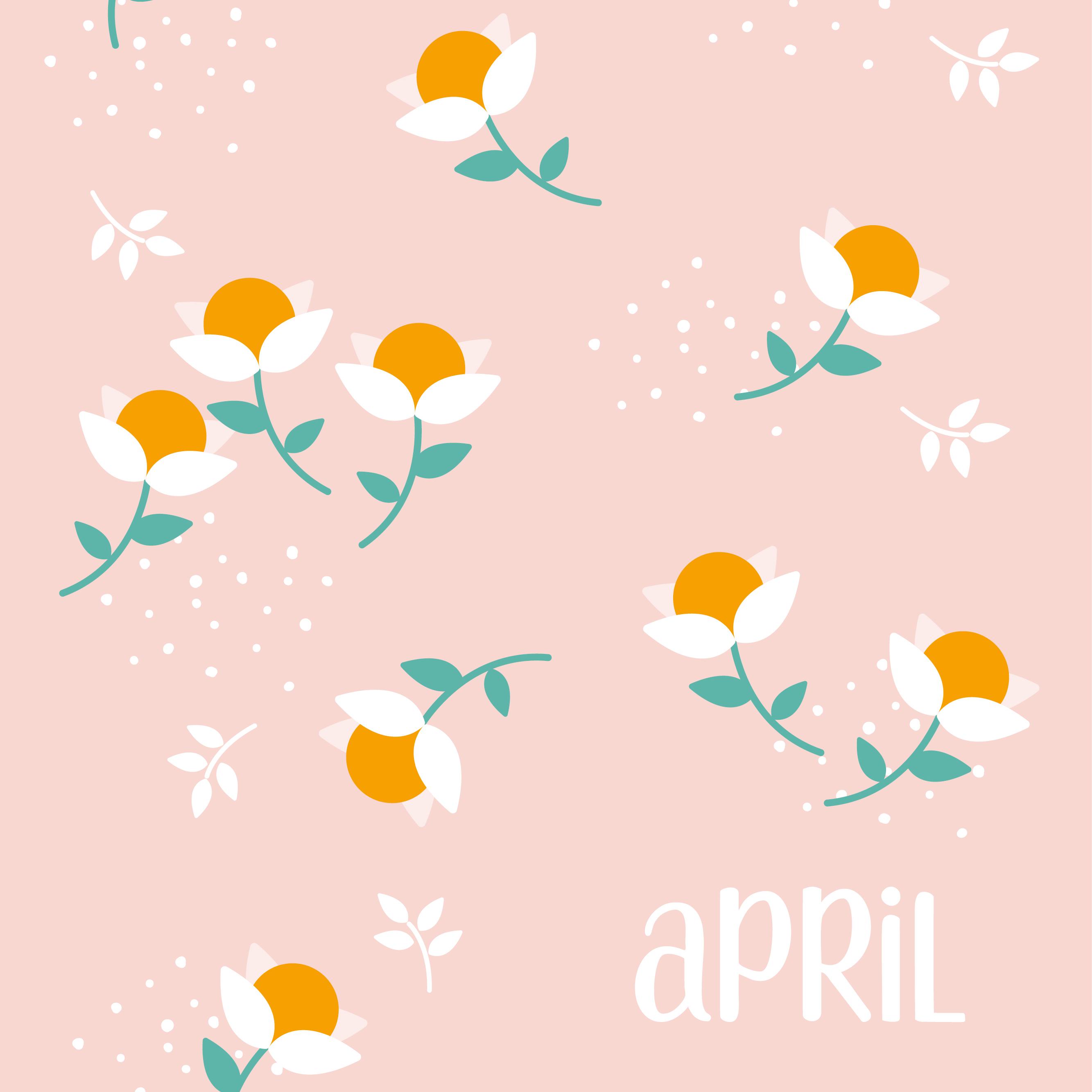 sfondo gratuito le petit rabbit aprile